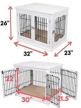 Internets Best Decorative Dog Crate