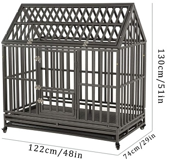 LUCKUP Heavy Duty Dog Crate Review