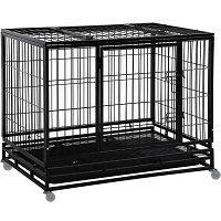 Large Dogs Heavy Duty Crate Summary