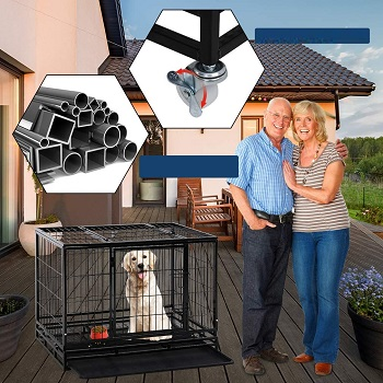 Large Dogs Heavy Duty Crate