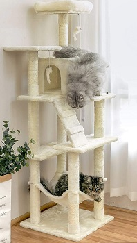 MWPO Tree Scratching Cat Tower
