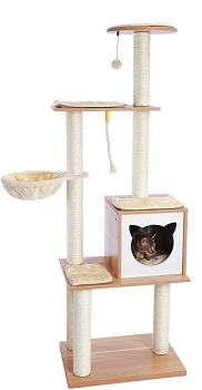 Made4Pets Scratching Hammock Tree Review