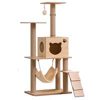 NC Solid Wood Cat Tree Summary