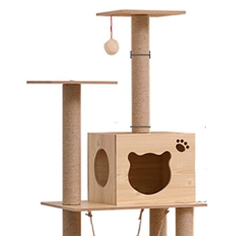 NC Solid Wood Cats Tree Review