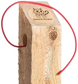 Natural Scratch Post