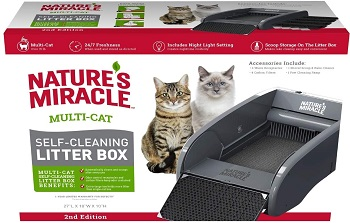 Natures Miracle Multi-Cat Litter Box