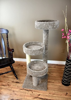 New Cat Condos Solid Cat Tree Review
