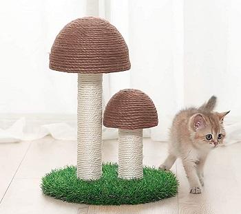 Octagon Cat Scratching Post