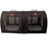 BEST FOR TRAVEL DOUBLE CRATE FOR TWO DOGS Summary