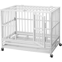 PUPZO Heavy Duty Dog Cage Summary