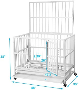 PUPZO Heavy Duty Dog Cage