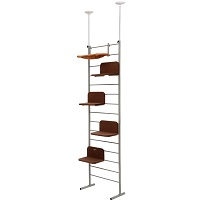 PawHut Ceiling Adjustable Climbing Tree Summary