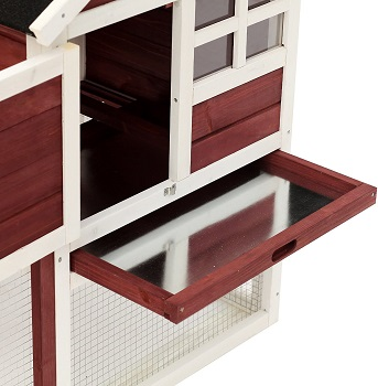 Pawhut Wooden Hutch Review