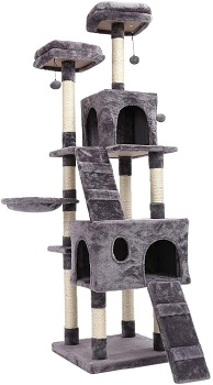 Pawz Tall Thin Cat Tree Review