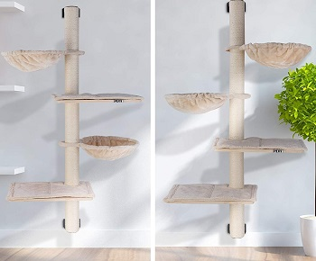 Pedy Wall Space-Saving Cat Furniture
