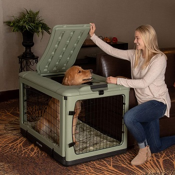 Pet Gear 4 Door Steel Crate