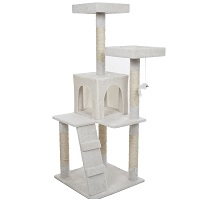 Pet Maker White Tree For Cats Summary