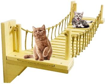 Plafueto Wall Mounted Cat Gym Jungle