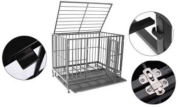 Polar Aurora Pet Dog Cage Review