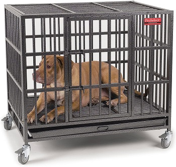BEST LARGE SUPER STRONG DOG CRATE