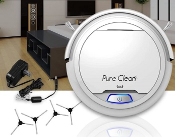 Pure Clean Robot Vacuum Cleaner Review