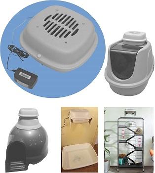 Purified Air Litter Box Air Filter