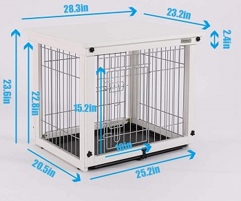 Simply Plus Wood And Wire Dog Crate Review