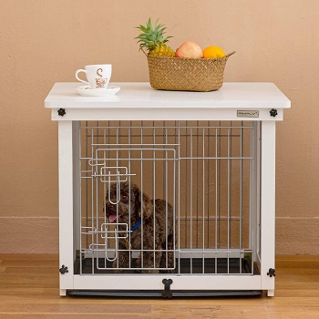 Simply Plus Wood Dog Crate