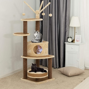 Suncoo Multi-Level Tower For Cats Review