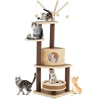 Suncoo Multi-Level Tower For Cats SUmmary