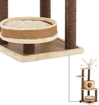 Suncoo Multi-Level Tower For Cats