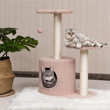 Tangkula Pink Cat Tower Review