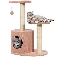 Tangkula Pink Cat Tower Summary