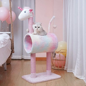 Topkitch Unicorn Activity Cat Tower Review