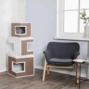 Trixie Modular 3-Story Cat Tower Review