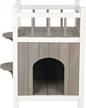 Trixie Small Wooden Cat Tower House Review