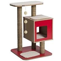 Vesper Red Dot Cat Tower Summary