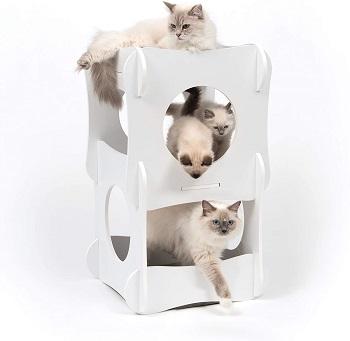 Vesper White Cat Condo Tower Review