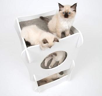 Vesper White Cat Condo Tower