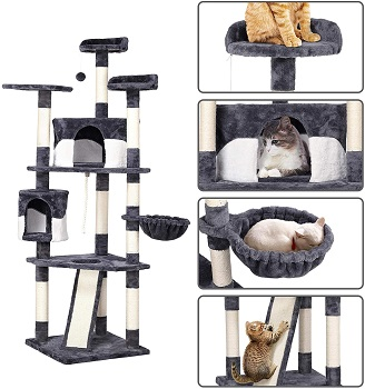 Yaheetech Extra-Tall Cat Tower Review