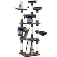 Yaheetech Extra-Tall Cat Tower Summary