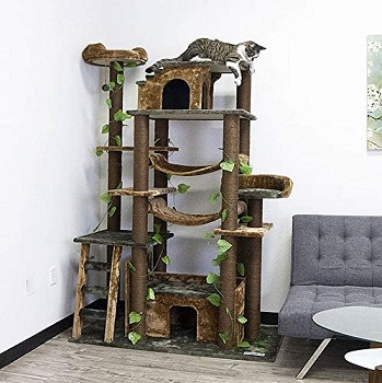 cozy cats furniture tower