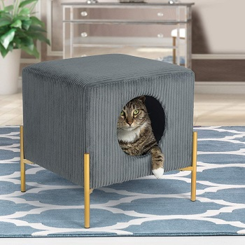 Adeco Mid-Century Cat House Review