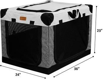 Akinerri Folding Soft Dog Crate Review