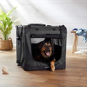 Amazon Basics Portable Soft Dog Crate