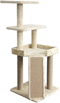 AmazonBasics Cat Tree Medium Size Review