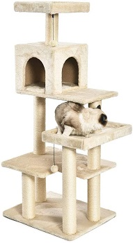 AmazonBasics Multi-Level Cat Tree Review
