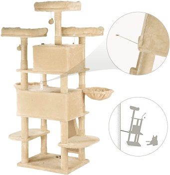 Amolife Multi-Level XL Cat Tree Review