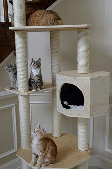 Armarkat Cat Condo Tall Tree