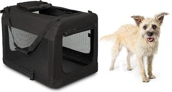 BIRDROCK HOME Soft Dog Crate